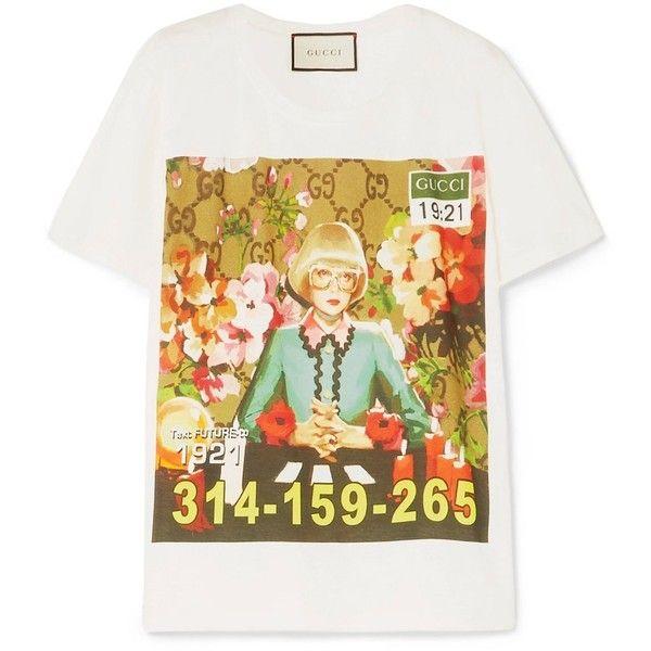 Gucci Ignasi Monreal Print T Shirt 790 Liked On Polyvore
