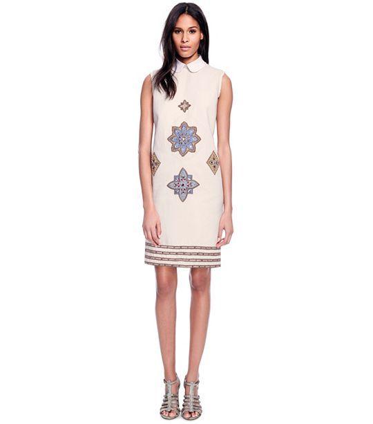 LORELAI DRESS - NEW IVORY #ToryBurch #FashionDresses