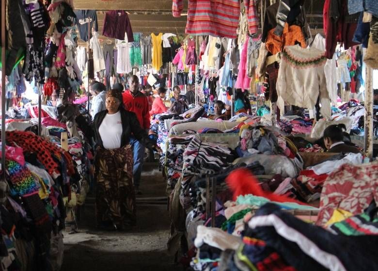 Here S Where Your Donated Clothing Really Ends Up Cbc News East Africa Charity Clothes