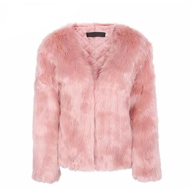 c21aab0ebcf05 Women s Winter Coat - Chic Faux Fur Coat today at a special price ...