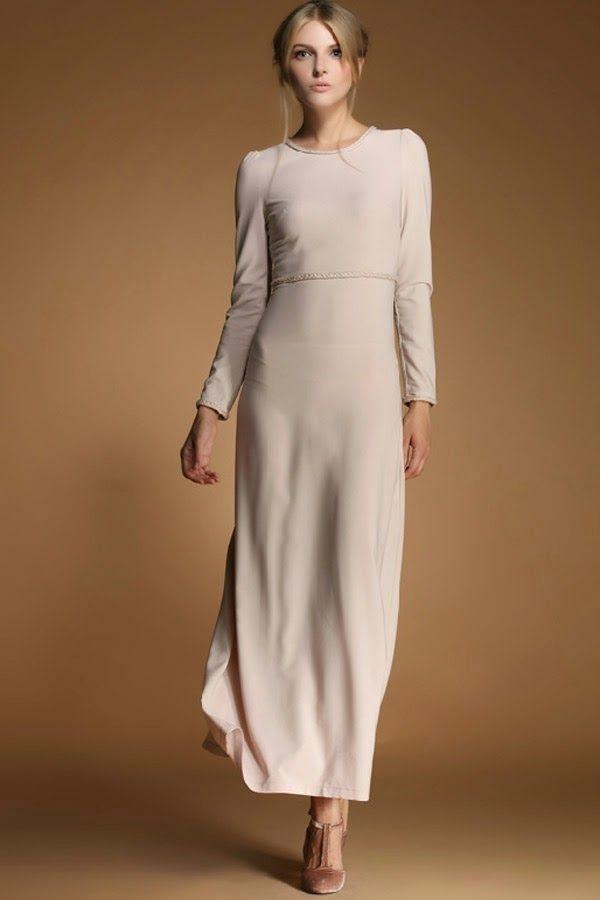Modas de vestidos largos sencillos