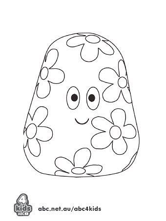 In The Night Garden - Print and Colour - ABC4Kids, haahoo coloring ...