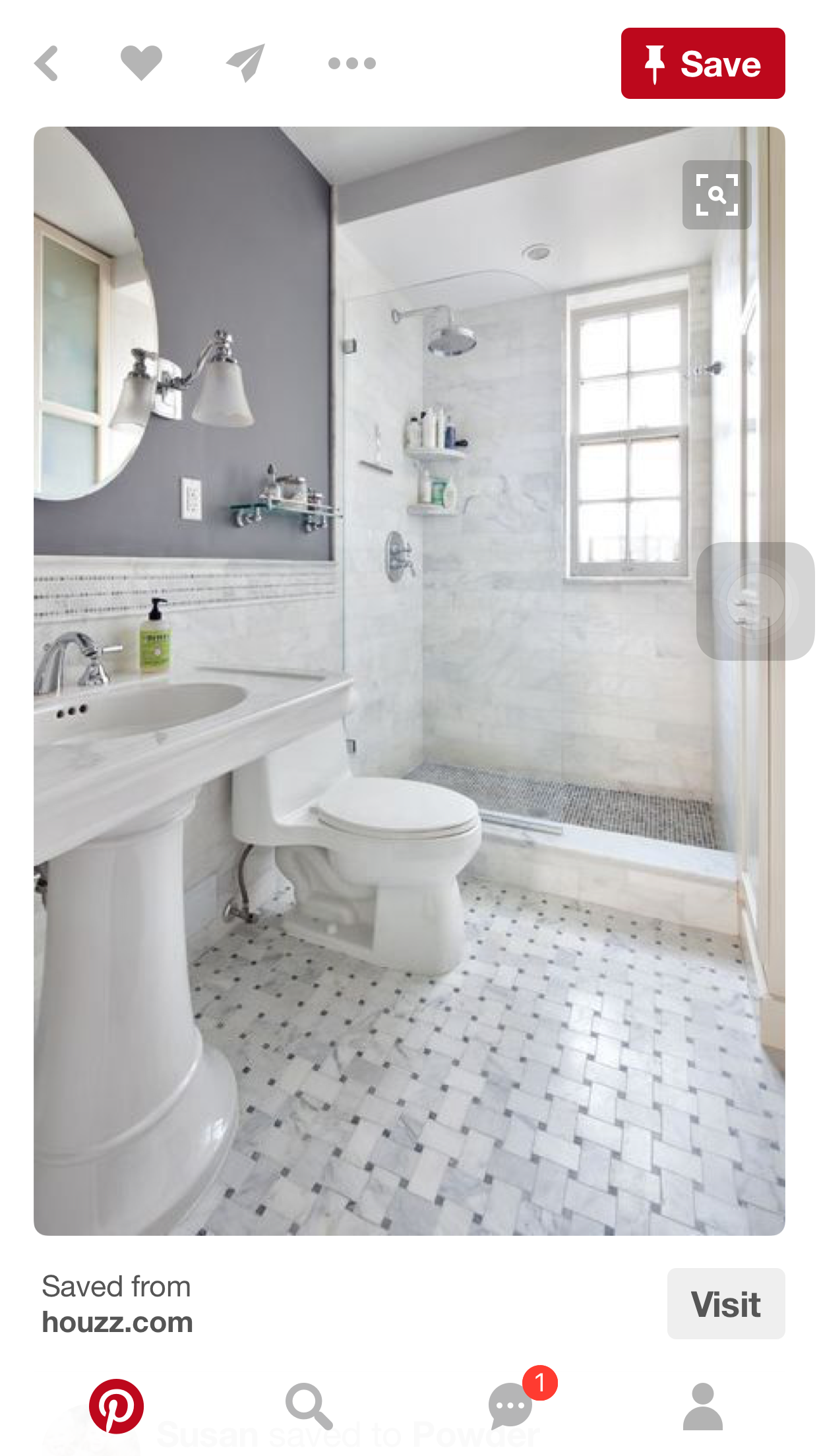 Pin by Brittany eyre on house   Pinterest   Bath, House and Bathroom ...