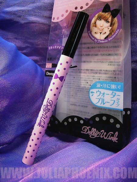 MADE IN JAPAN vol III: el mágico Eyeliner de DOLLY WINK tono