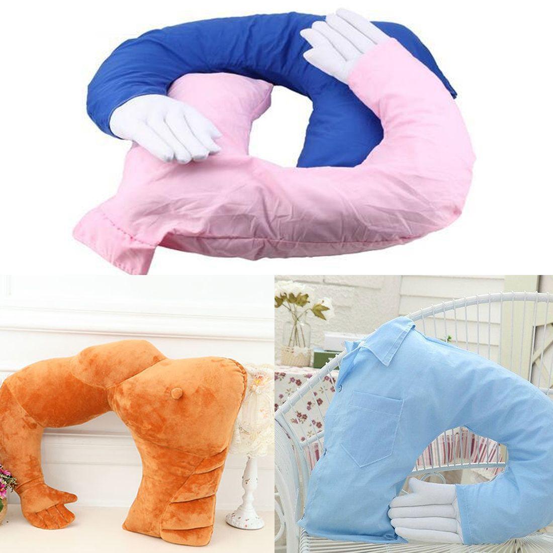 Boyfriend Arm Throw Pillow Funny Body Hug Girlfriend Cushion Bed Gift Home Decor