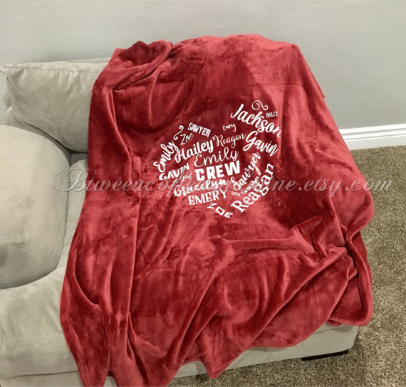 5bde6c54309 Personalized Blanket