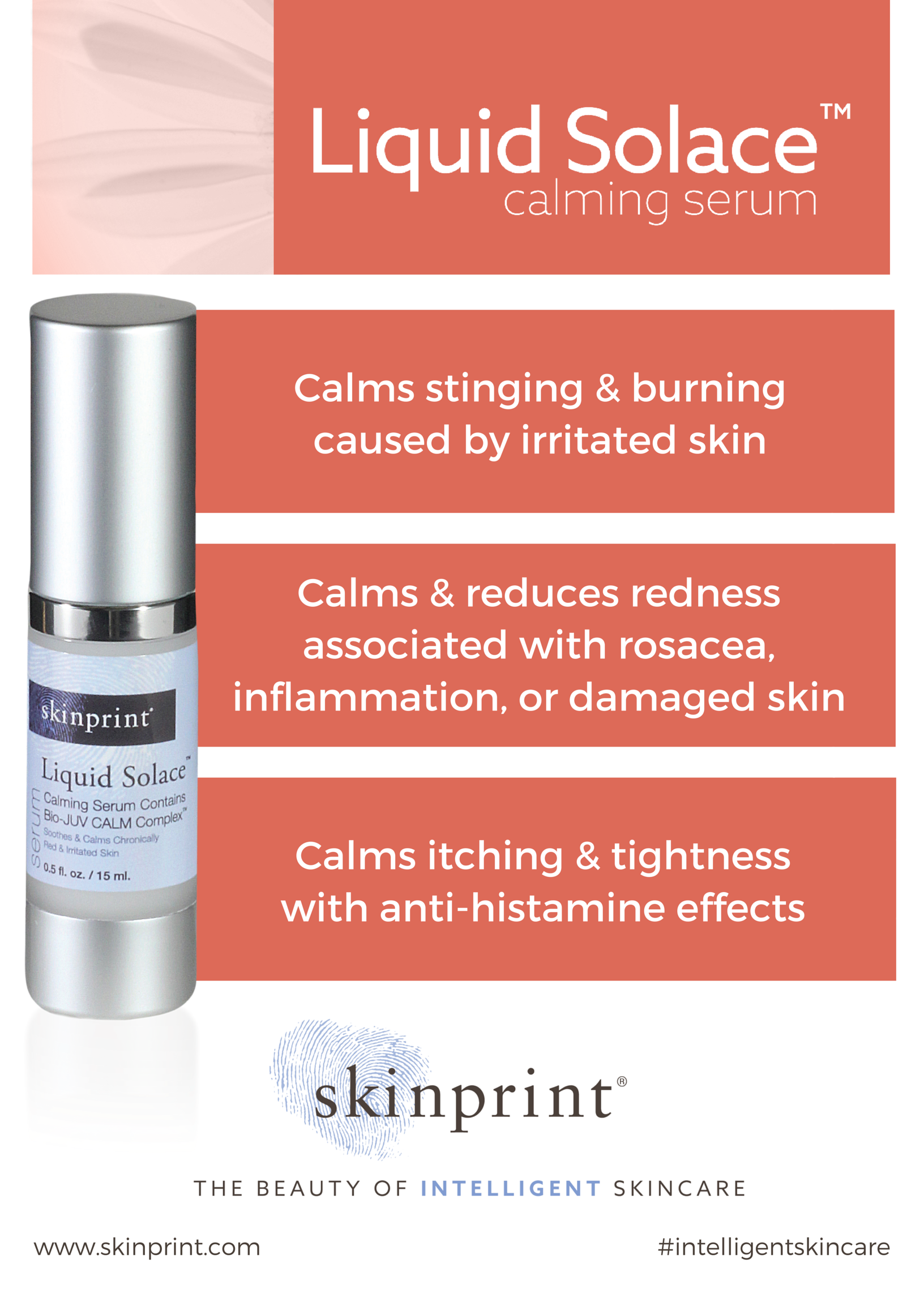 When Your Skin Is Screaming For Help Liquid Solace Is The Only Over The Counter Skin Calming Brand Delivering All Of Thes Calming Serum Skin Calming Skin Care