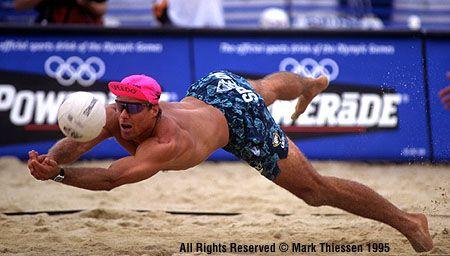 Karch Kiraly Beach Voley Voley Volleyball De Playa