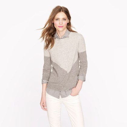 e95c02d55 August    Collection cashmere button-back sweater in chevron  89 ...