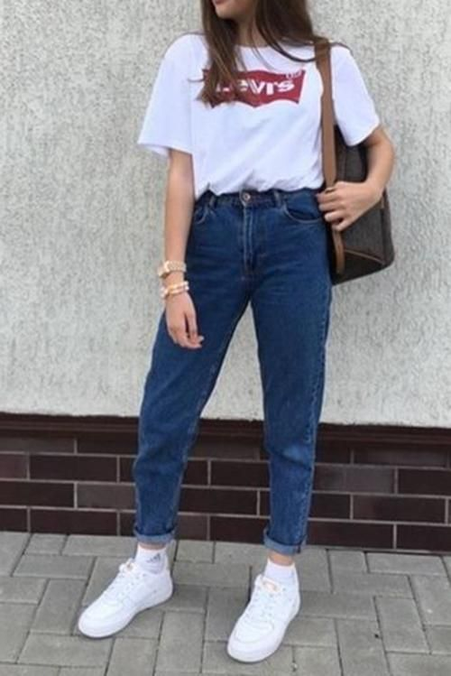 fine simple mom outfits 11