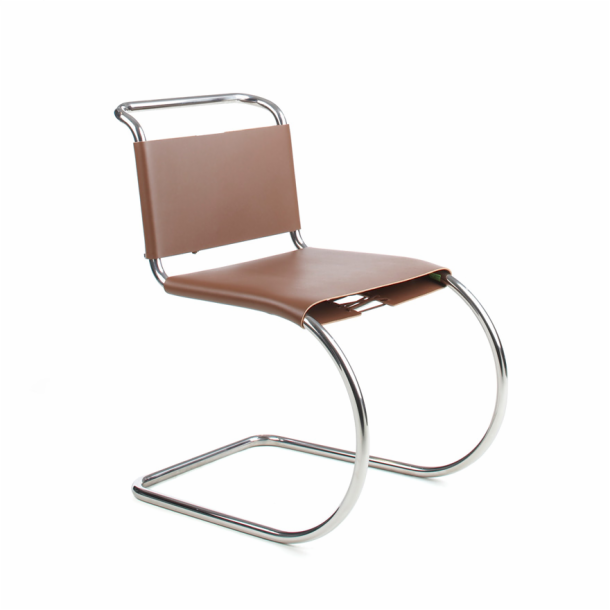 Exceptional ARCHIVO DE SILLAS Mies Van Der Rohe MR Chair 1927 Bauhaus Tubo Cromado De  Acero Y
