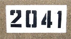 diy curb numbers haha my apt number good to know pinterest
