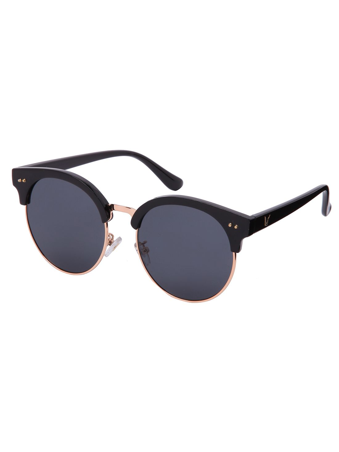 793d803ef10 Round Lenses Reflective Sunglasses -SheIn(Sheinside)
