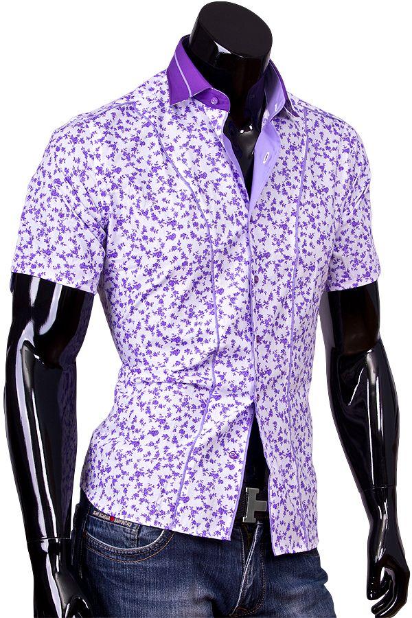 e672b1eb1f4 Цветные рубашки мужские
