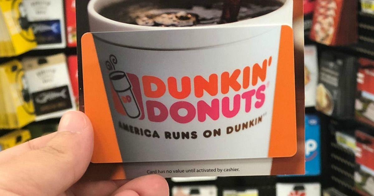 Free 5 Gift Card for New Bitmo App Users (Dunkin Dunkin