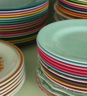 plates..