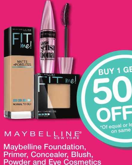 ee4430a9333 Maybelline New York Mascara Only $1.37 After Printable Coupon and Walgreens  BOGO 50% Off Sale!
