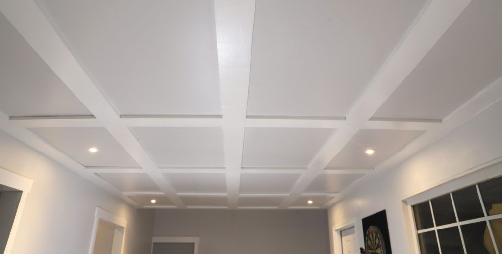 Coffered Ceilings With Hidden Access Coffered Ceiling Diy
