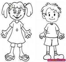 Afbeeldingsresultaat voor coloring pages human body Knutsels