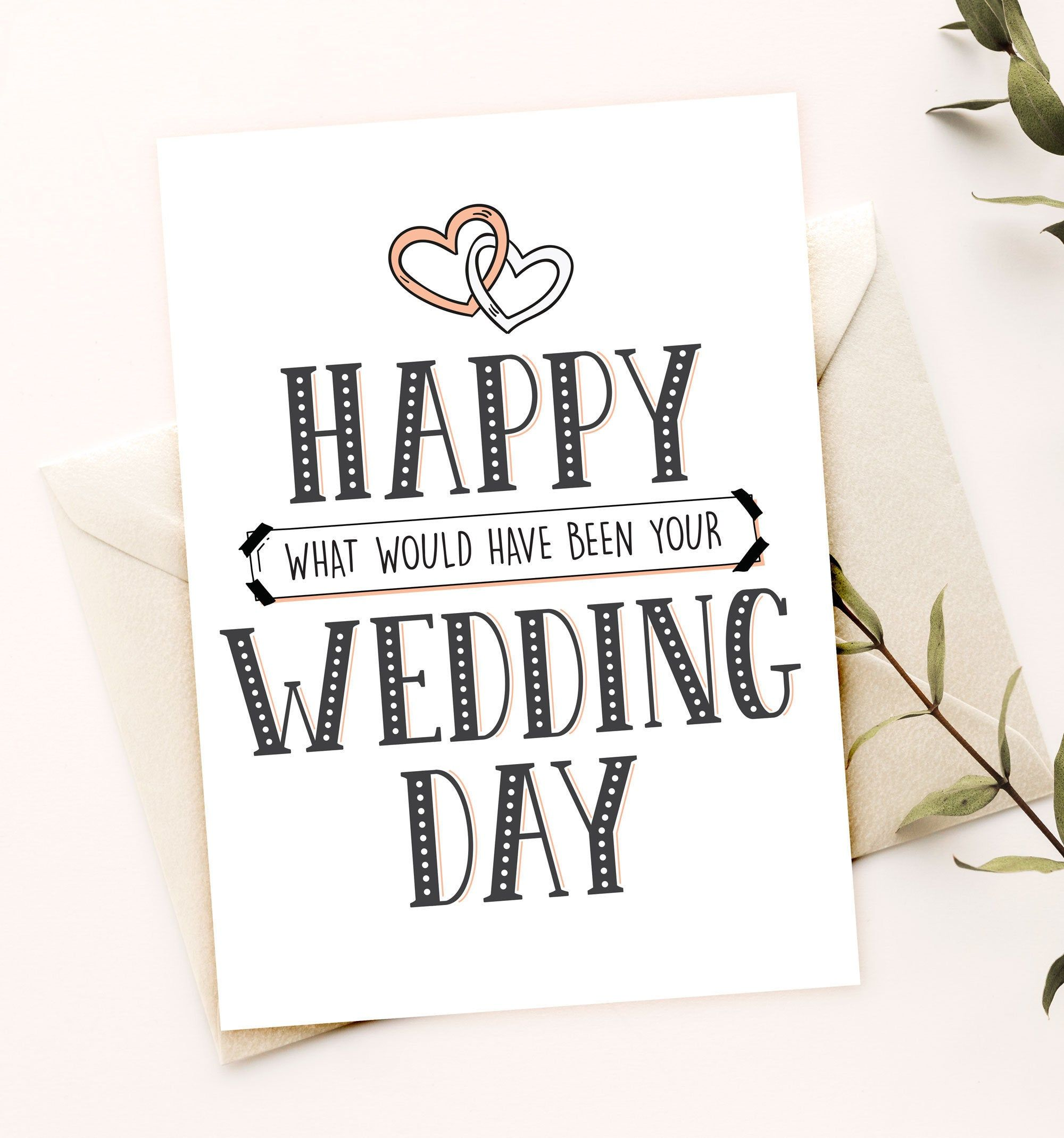 Happy What Would Have Been Your Wedding Day Wedding Postponement Card Delayed Wedding Card For Couple Digital Download Wedding Cards Birthday Card Printable Wedding Day Quotes