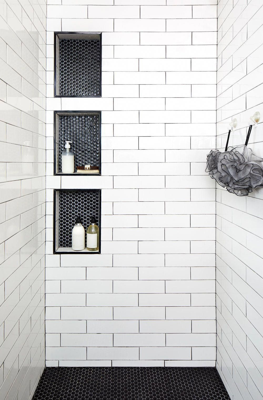 60 Bathrooms Black And White Decorated Beautiful Pictures In 2020 Best Bathroom Tiles Bathroom Design Small Floor Tile Design