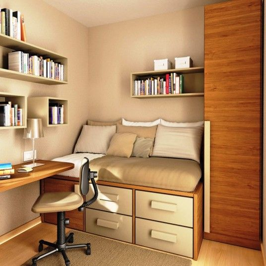 simple study room design