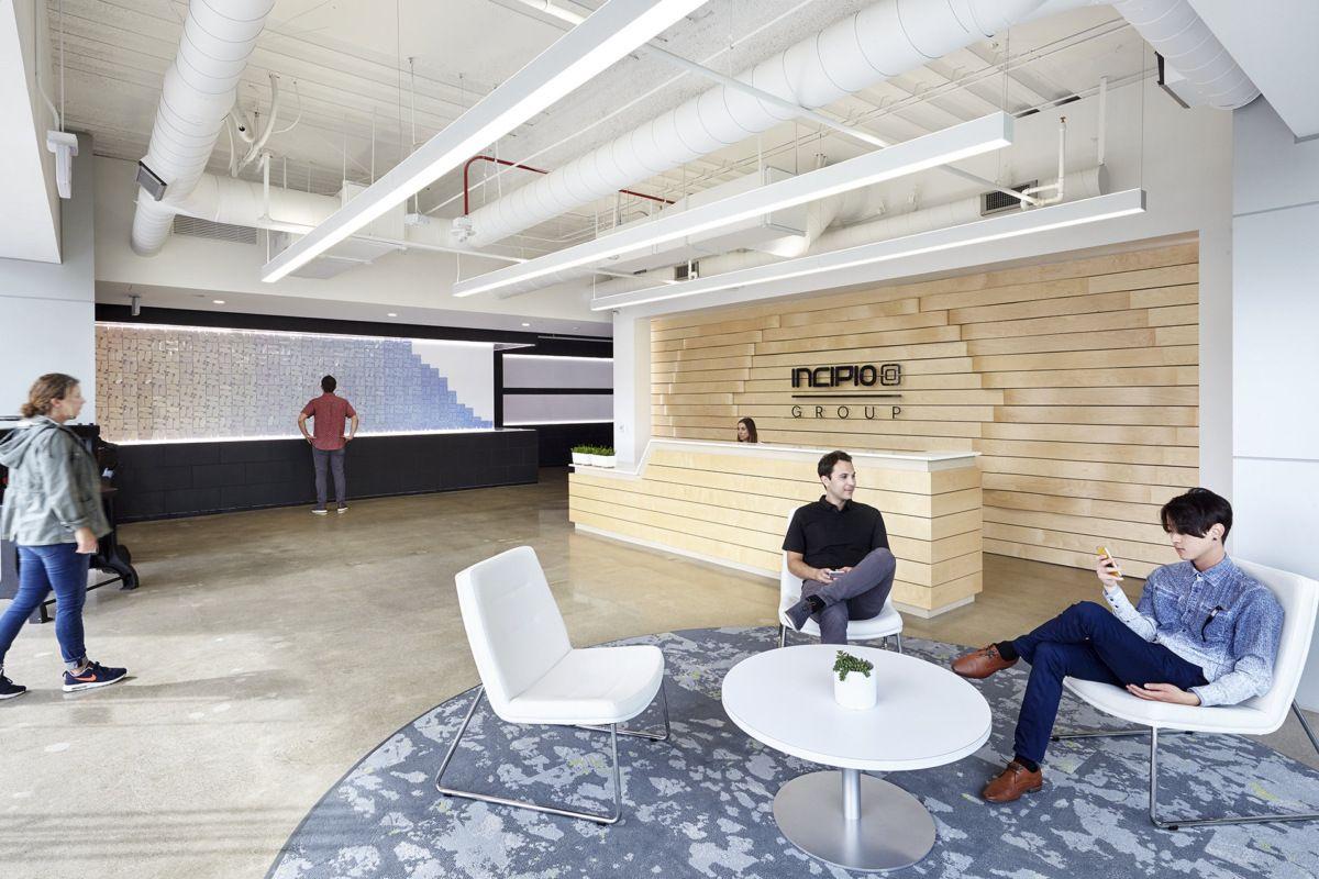 9 Office Snapshots Corporate Interiors Office Design Collaborative Workspace