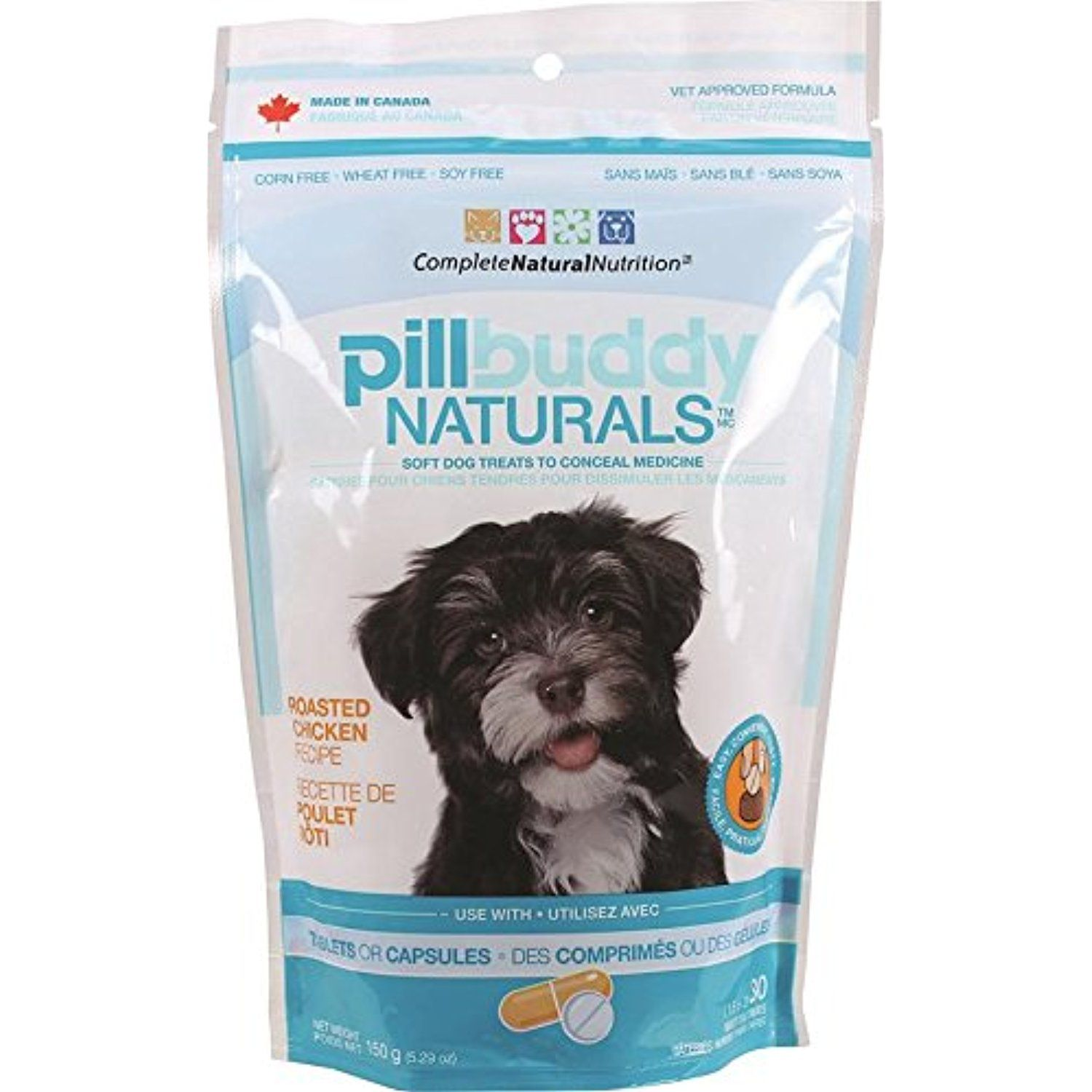 Complete Natural Nutrition Pill Buddy Naturals 30 Count Chicken