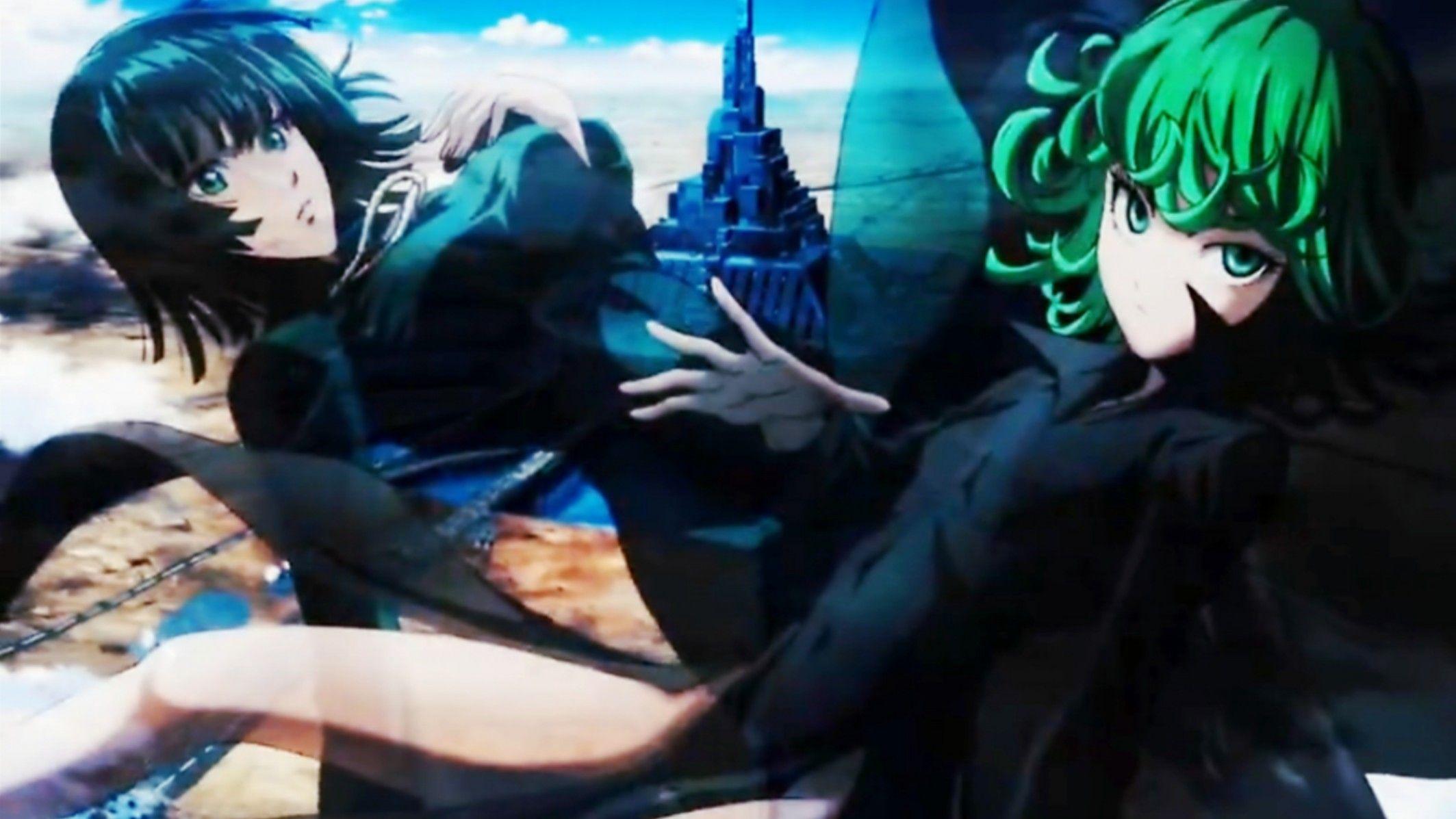 One Punch Man Second Fubuki x Tatsumaki One punch man
