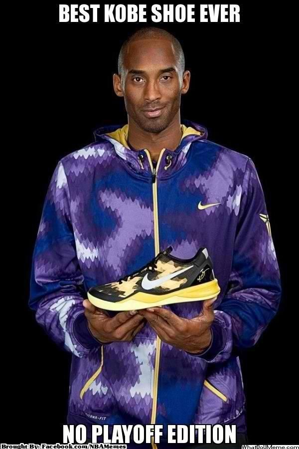 d026868578ec Best Kobe Shoe Ever    No Playoff Edition  Lakers  LakeShow  Nba ...