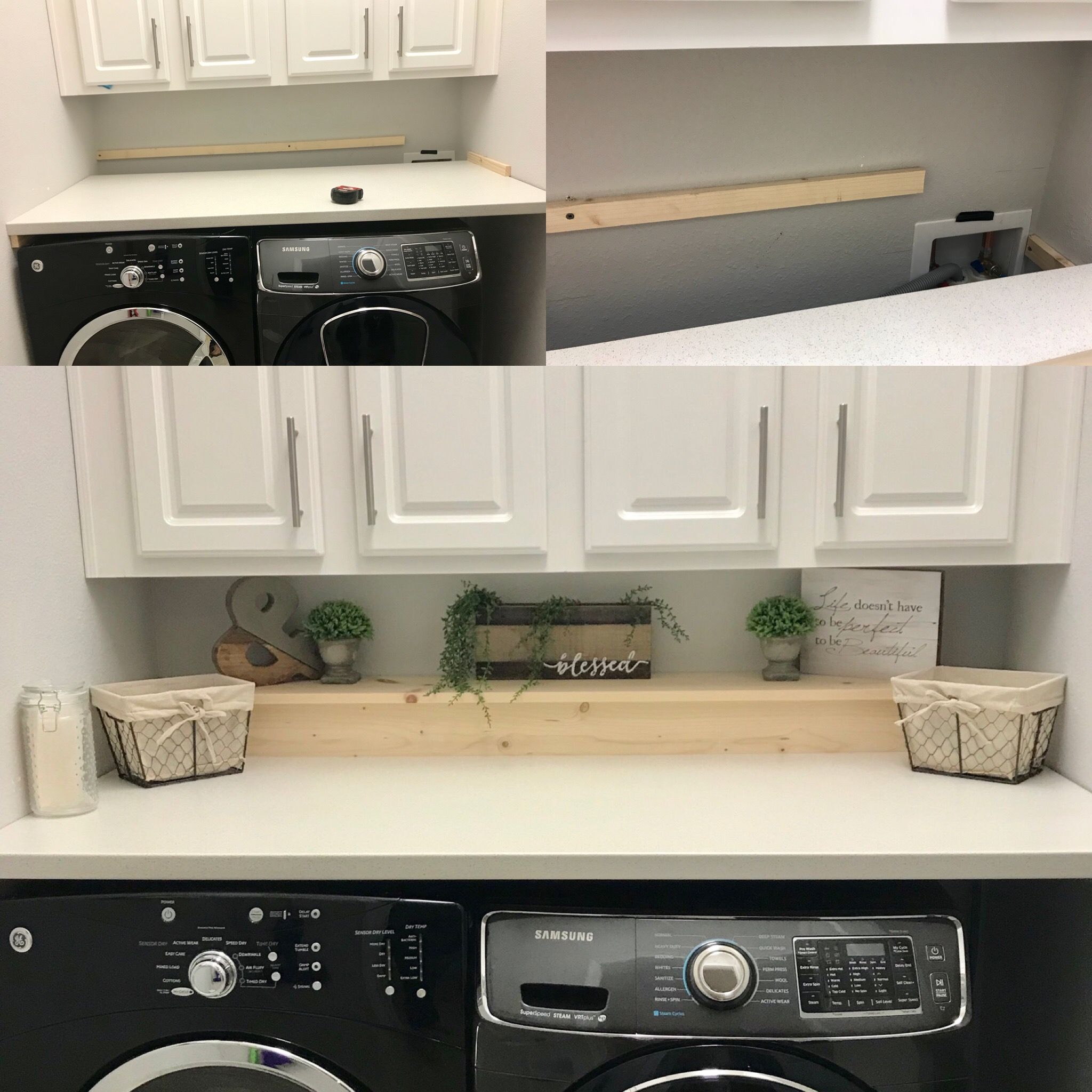One Day Project Under 100 Counter Top From Ikea And Made A