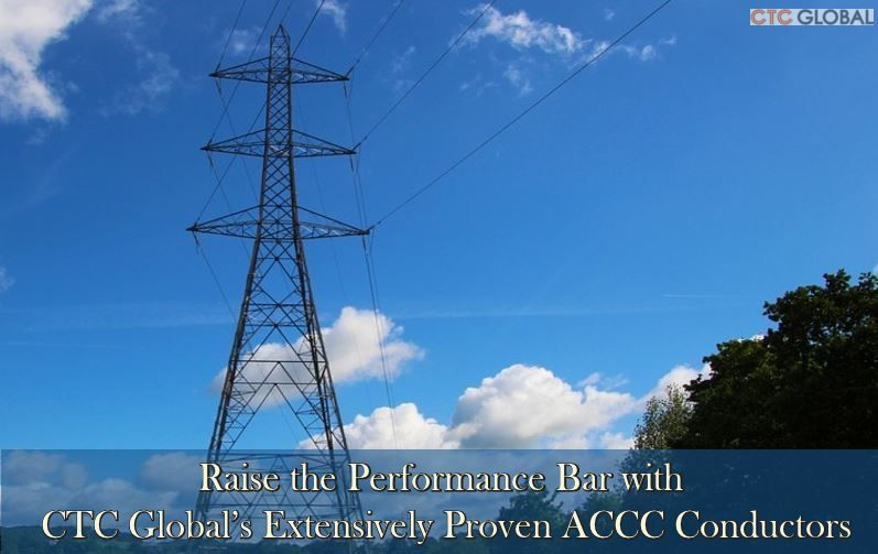 Ctc Global S High Efficiency Accc Conductors To Attain Emission Reduction Conductors Emissions Clean Renewable Energy