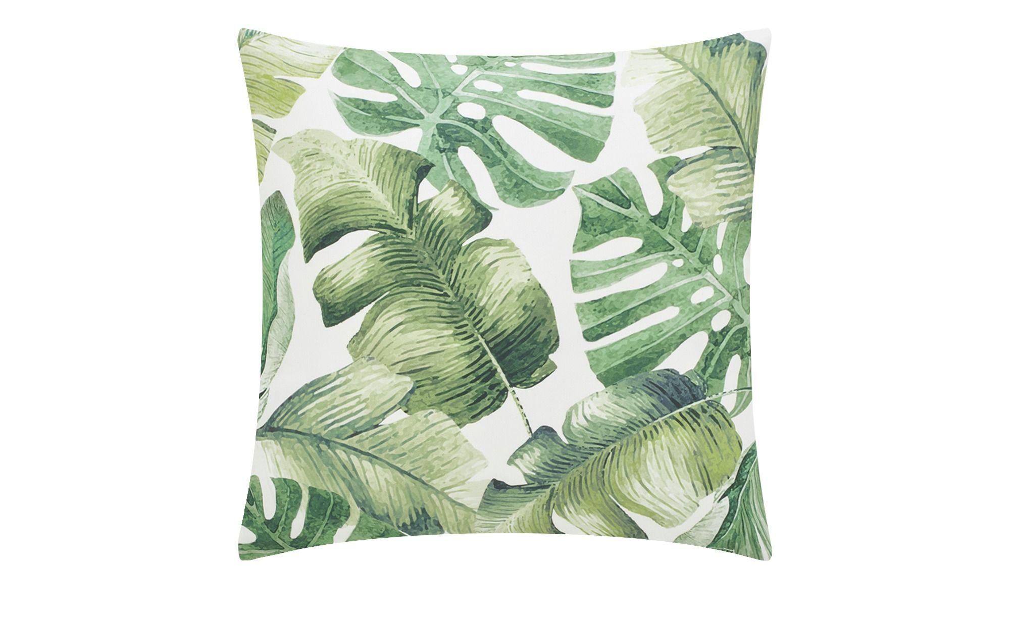 Palmenblatter Hoffner Palmen Kissen