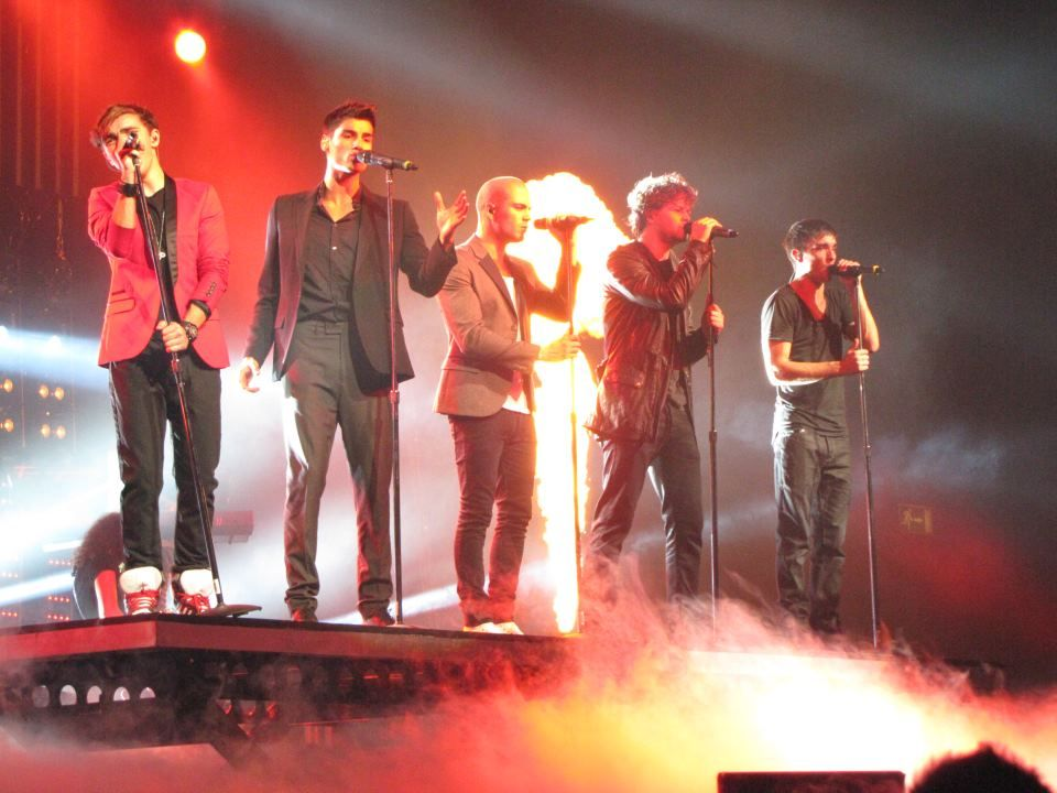 The Wanted- Can't wait until I'm able to see them in concert!