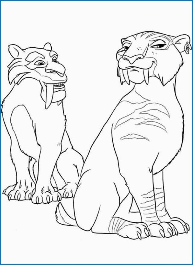 Ice Age Books Free In 2020 Ice Age Coloring Pictures Super Coloring Pages
