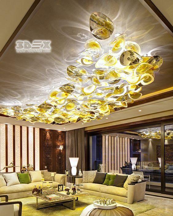 3d False Ceiling Designs Loft Interior Design False Ceiling Design Ceiling Design