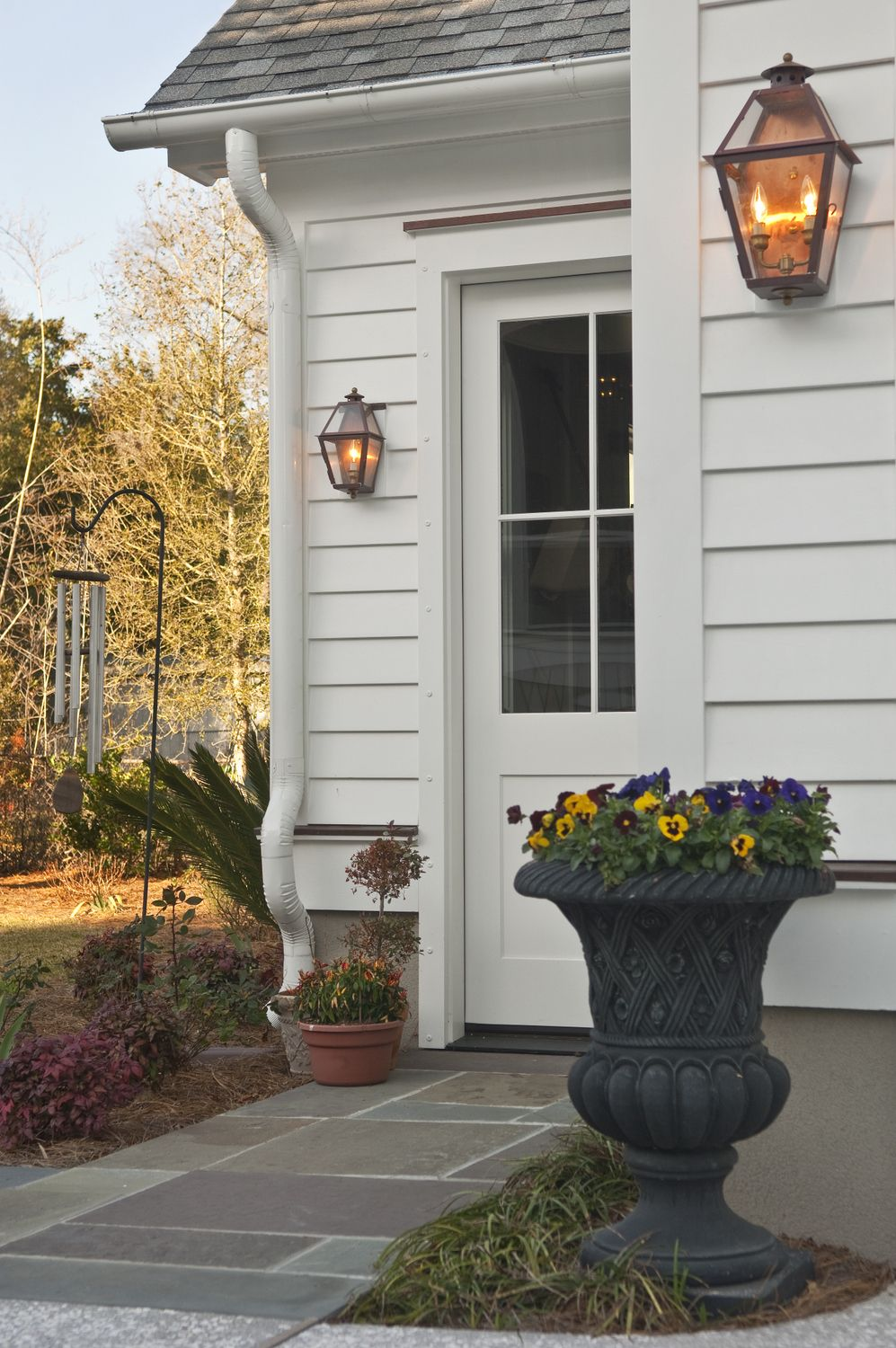 Outdoor Gas Lanterns Porch lighting, Exterior light