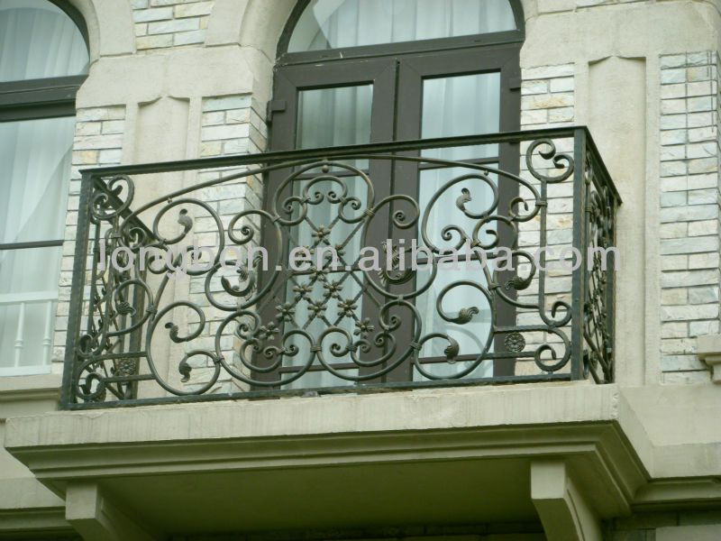 Elegant Wrought Iron Juliette Balcony