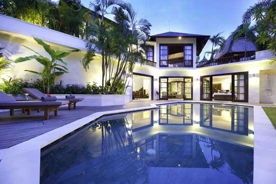Modern villa for rent in Bali