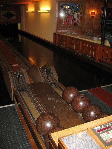 Old Bowling Alley Bowling Bowling Alley Bowling Center