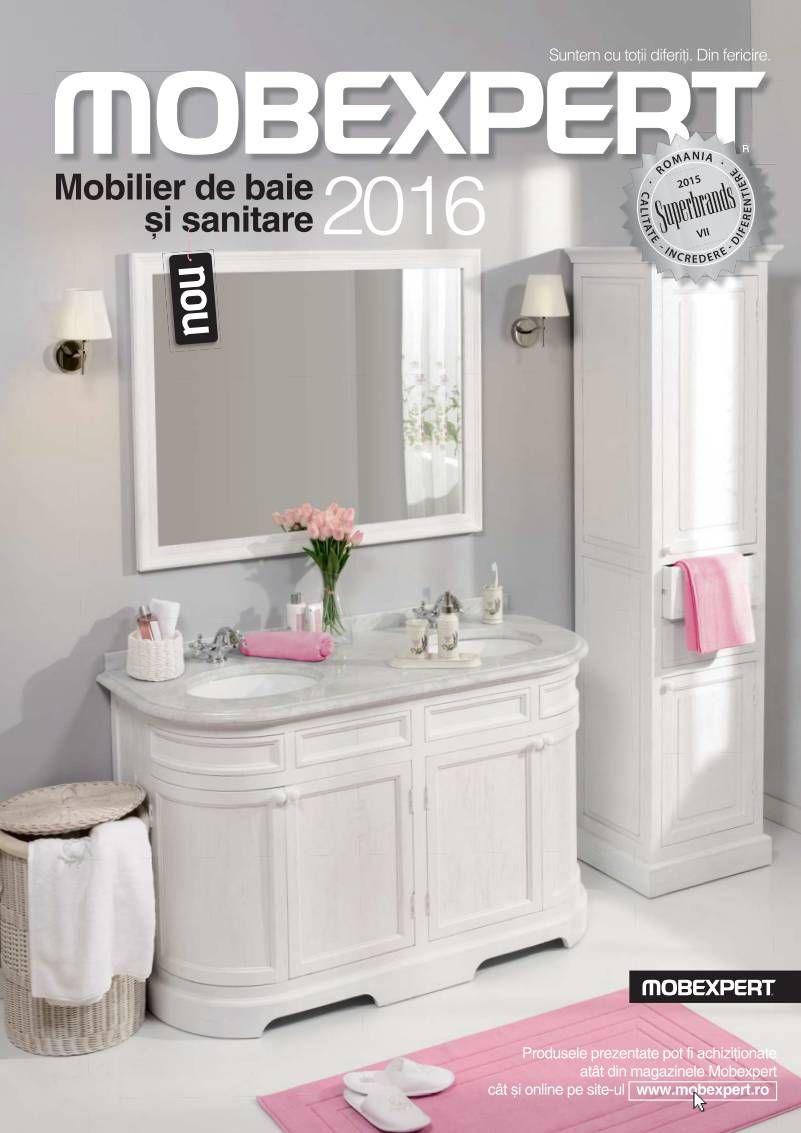 Catalog mobexpert mobilier de baie si sanitare 2016 design si mobila for Catalogue mobilier design