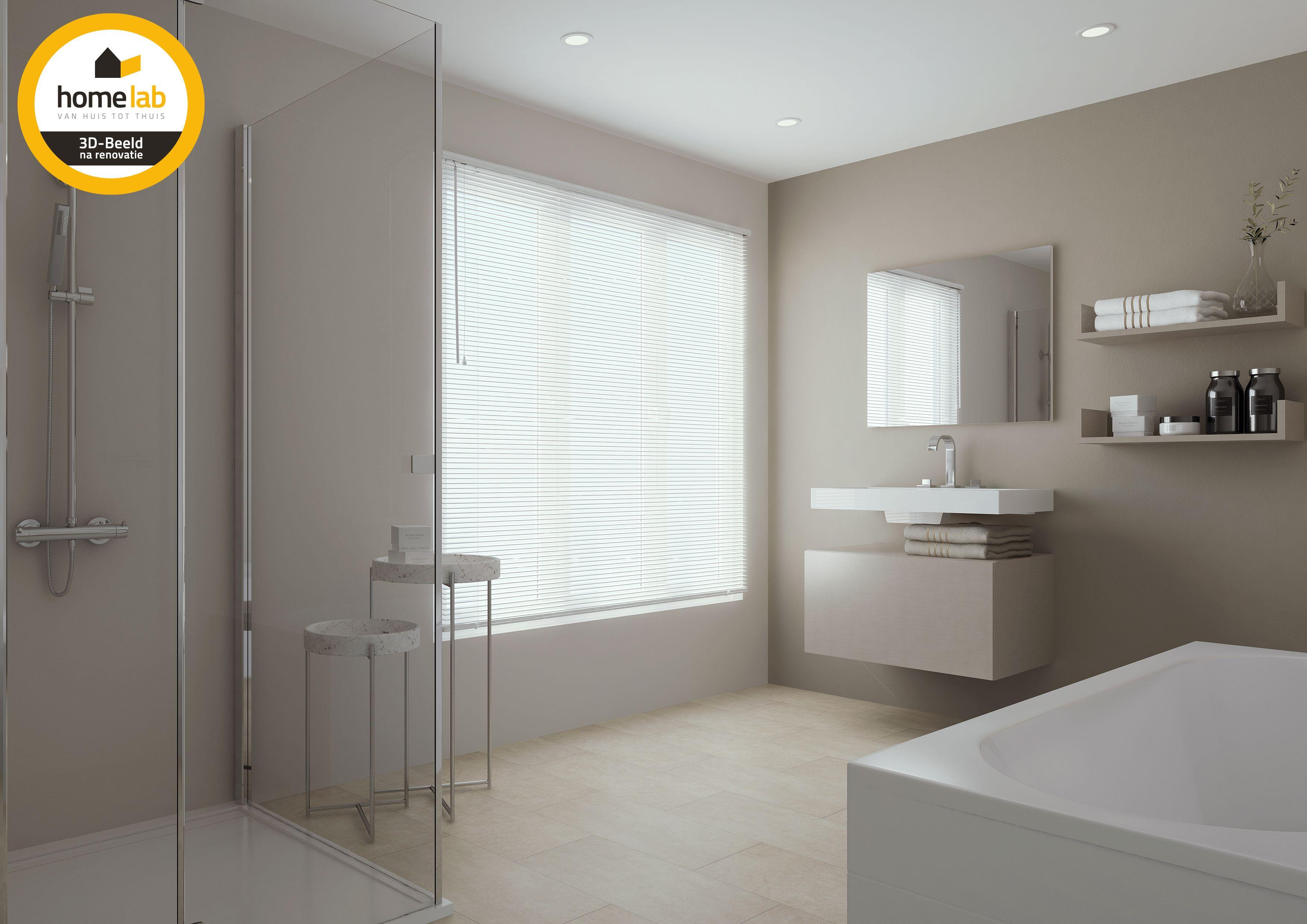 Moderne Witte Badkamer : Moderne witte badkamer #homelab #homelabprojects #modern #badkamer