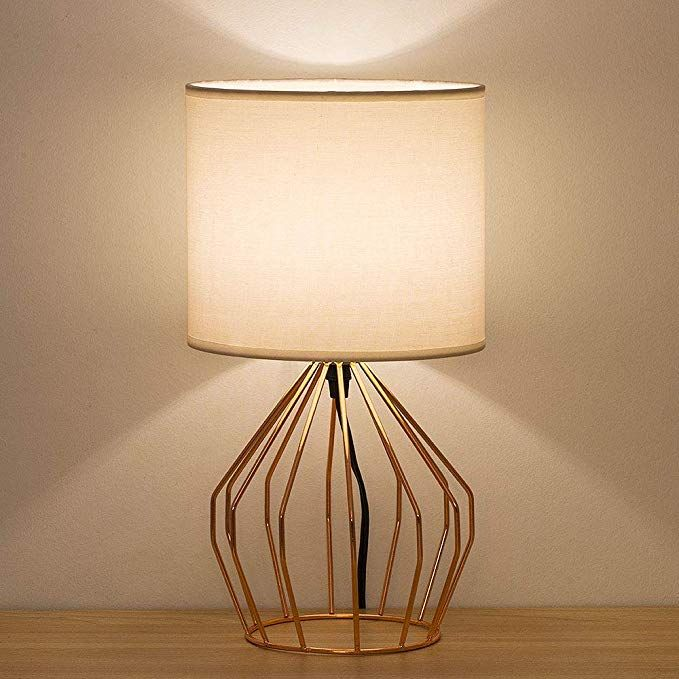 Best Haitral Bedside Table Lamp Small Nightstand Lamp Modern 400 x 300