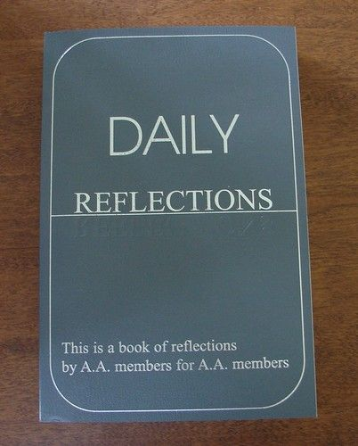 Daily Reflections Alcoholics Anonymous Meditations LARGE ...