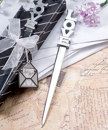 What A Cute Favor This Would Make A Love Letter Opener Mr