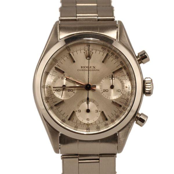 Vintage Rolex Pre-Daytona Chronograph Stainless Steel timepiece...