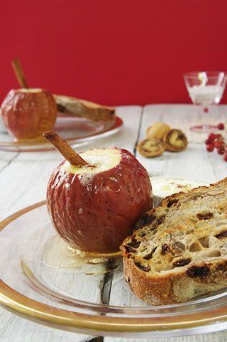 まるごと焼きりんご|タカキベーカリー