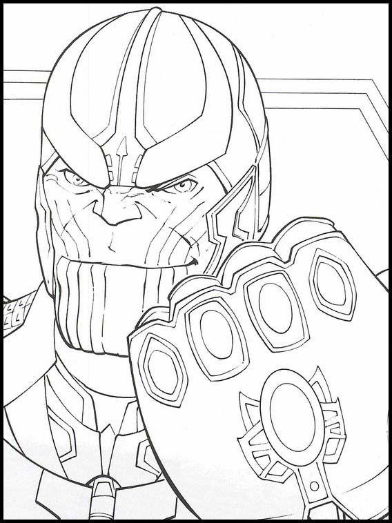 Avengers Endgame 38 Ausmalbilder für Kinder Malvorlagen