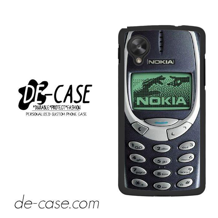 Nokia Old Mobile For Google Nexus 5 Case Phone Case Gift Present YO