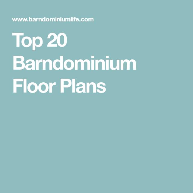 Top 20 Barndominium Floor Plans in 2022 Barndominium